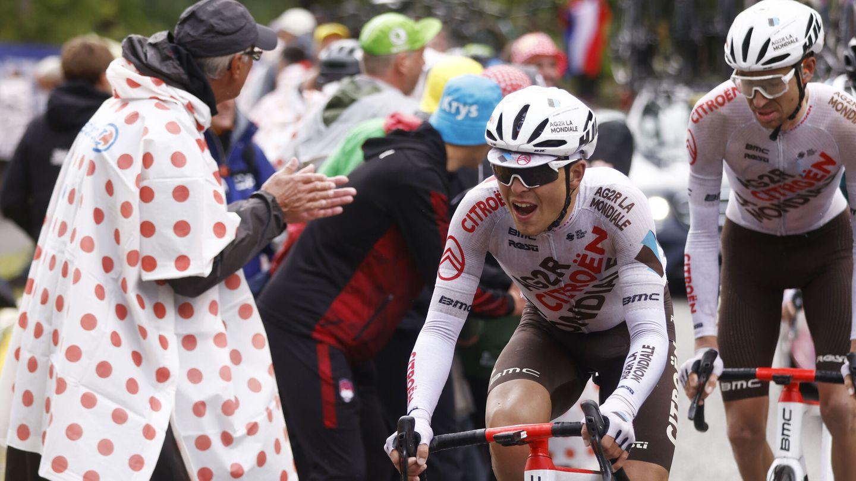 Ben O´Connor, el ganador de la etapa. (Reuters)
