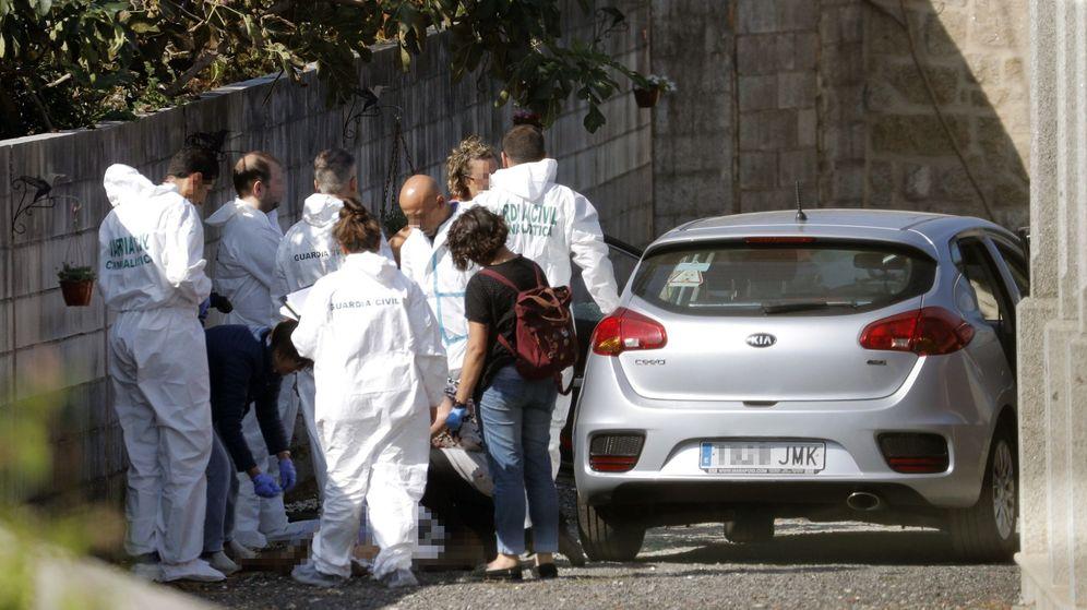 Foto: Vivienda donde se cometió el triple crimen. (EFE)