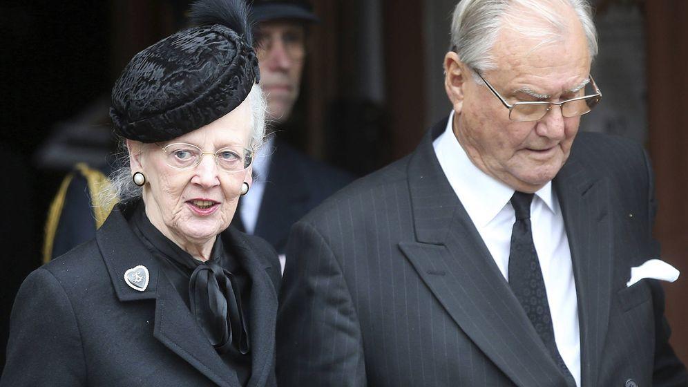 Foto: El príncipe Henrik y la reina Margarita en una imagen de archivo. (Gtres)
