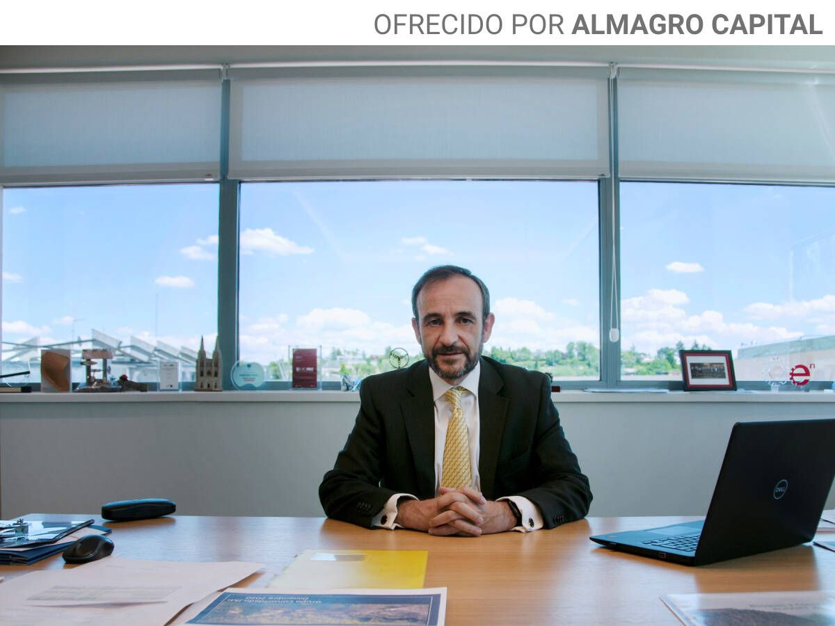 Foto: Enrique Isidro es el consejero de Almagro Capital.