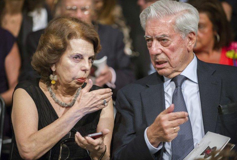 Foto: Mario Vargas Llosa y su mujer, en una imagen de archivo