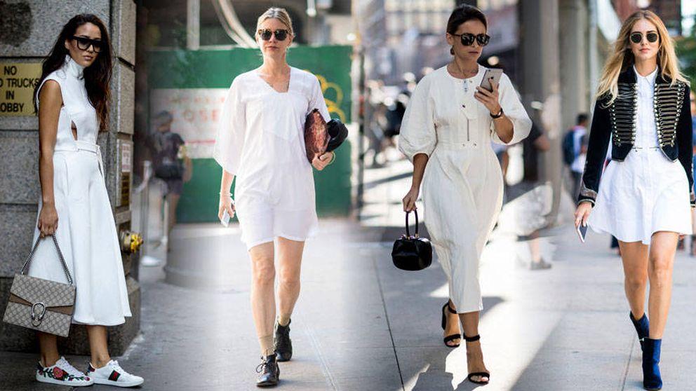 Vestido blanco, cómo llevar la prenda estrella del próximo verano