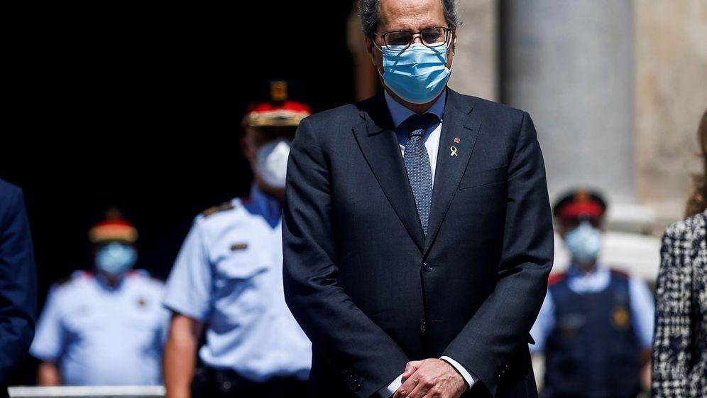 Foto: El ¡president' de la Generalitat, Quim Torra.