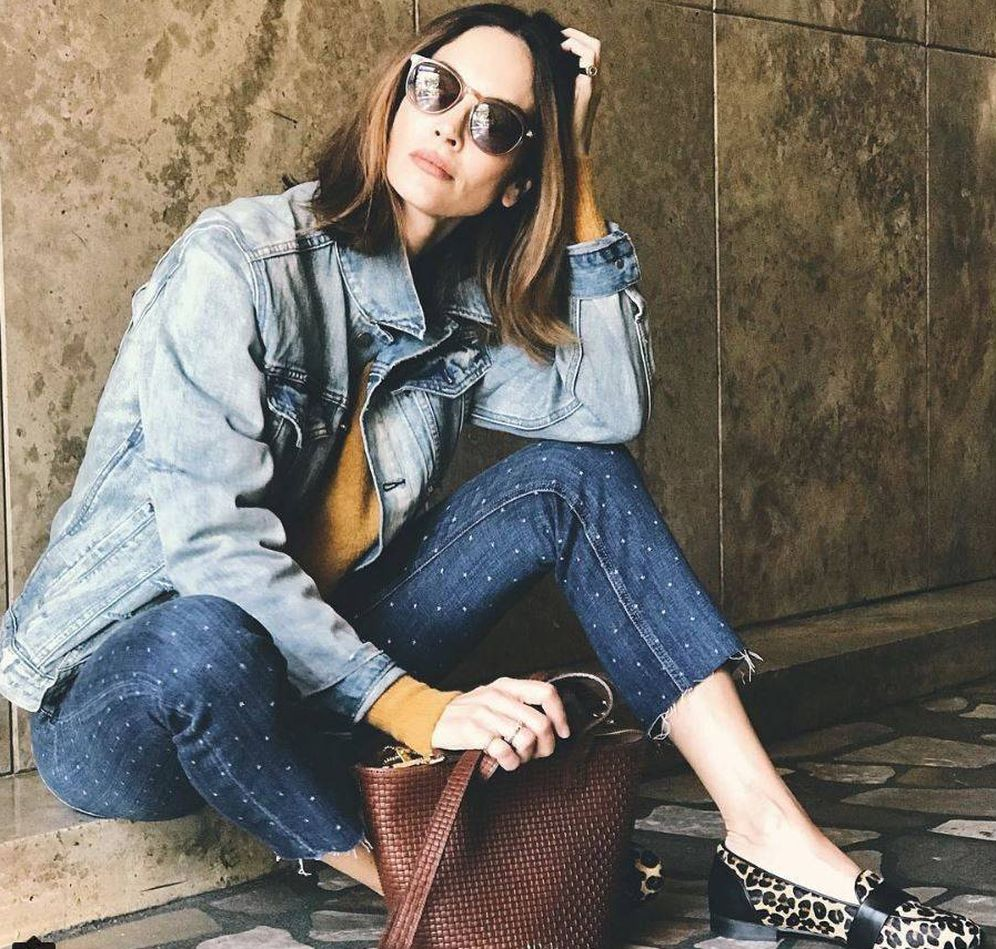 Foto: La modelo Eugenia Silva, fan de los bolsos de Möhel