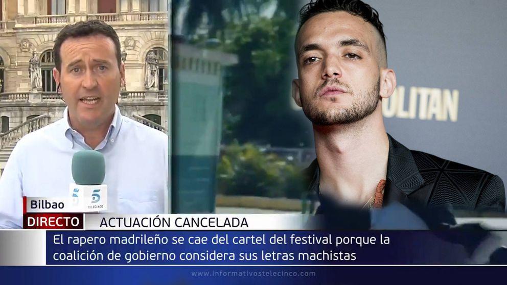 El fallo de un reportero de Telecinco al referirse al cantante C. Tangana