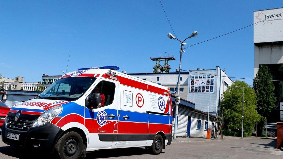 Foto: Una ambulancia en Polonia. (Reuters)