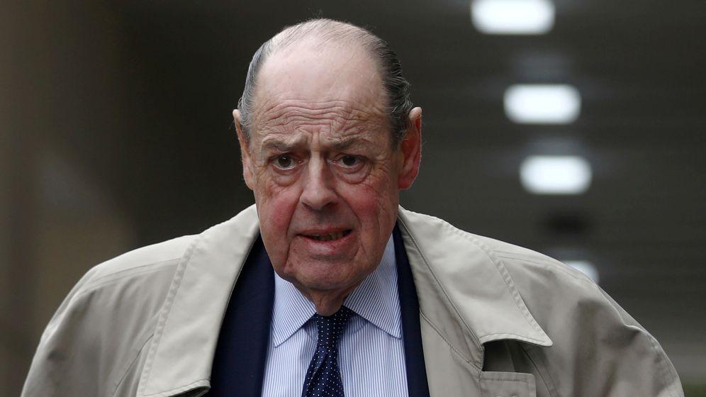 Foto: Nicholas Soames, nieto del célebre Winston Churchill. (Reuters)