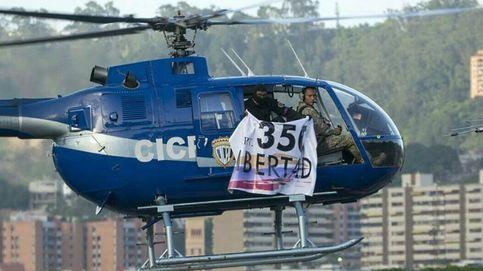 Así fue el ataque de un helicóptero al Ministerio de Interior de Venezuela