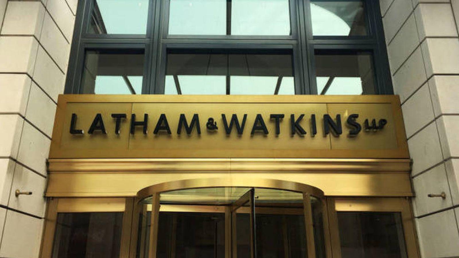 Foto: Exterior de una de las oficinas del bufete norteamericano Latham & Watkins.
