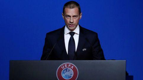 La UEFA perdona a los 'arrepentidos' de la Superliga y amenaza a Madrid, Barça y Juve