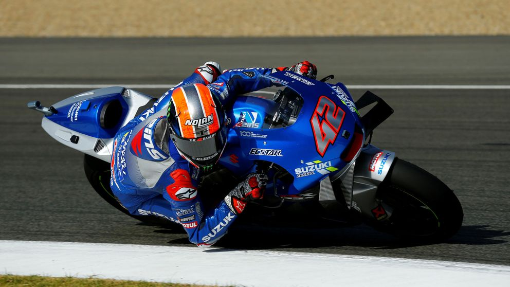 Álex Rins sufre una dura caída y no podrá correr el primero de los dos GP de Jerez