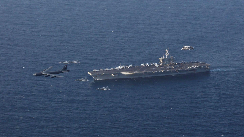USS Abraham Lincoln. (Foto: EFE)