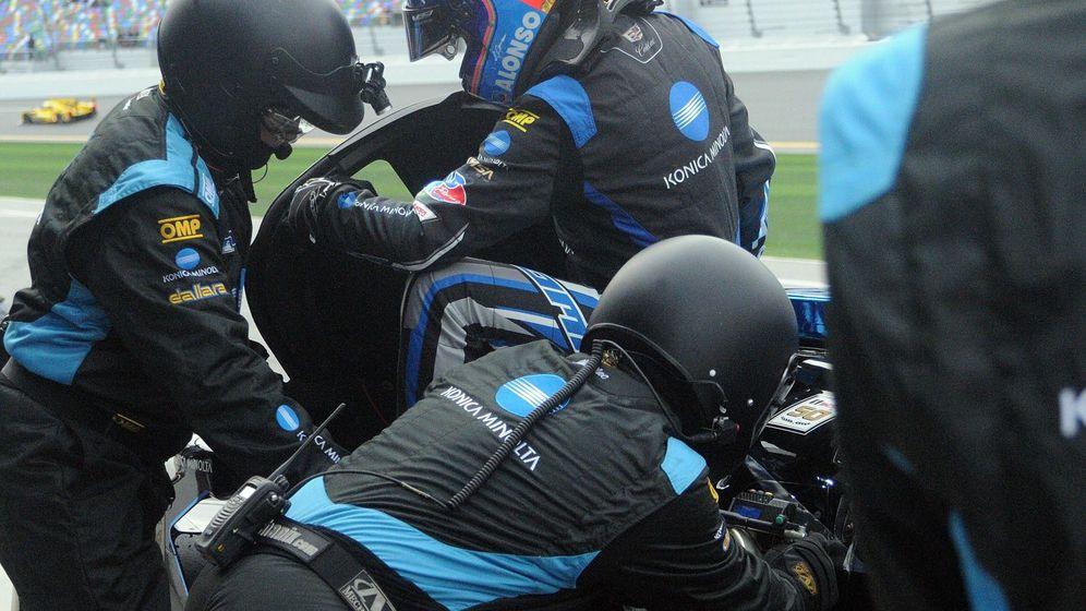 Foto: Alonso en Daytona. (EFE)