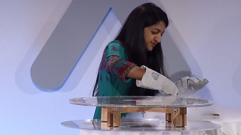Suchitra Sebastian, física de materiales