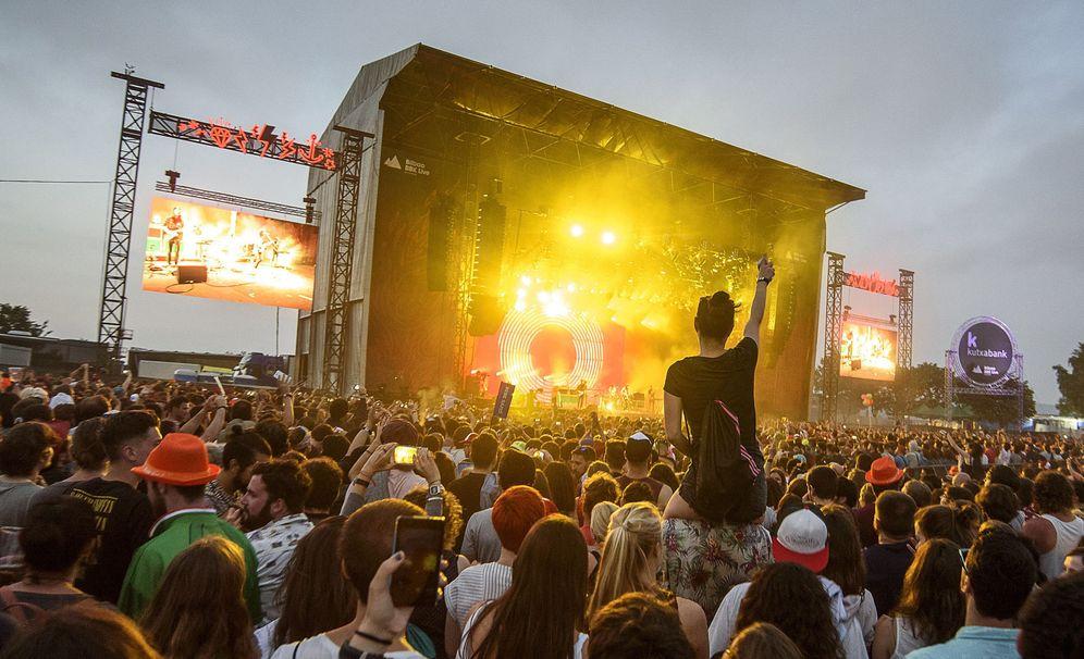 Foto: Imagen del pasado BBK Live! (Efe)