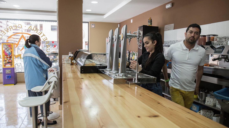 Uno de los bares que han abierto en Seseña en el último año y medio. (D.B.)