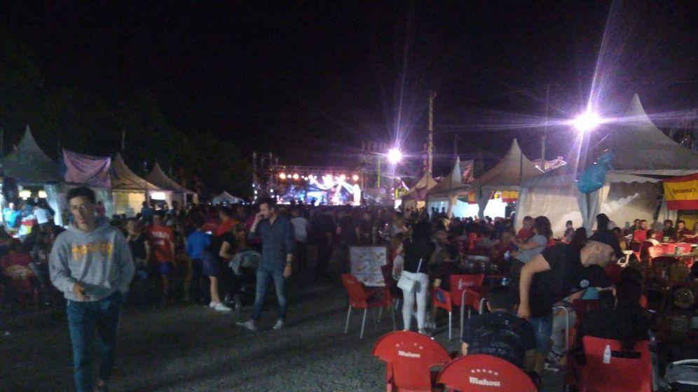 Foto: Fiestas del Agua. (Foto: MOVER Parla/Facebook)
