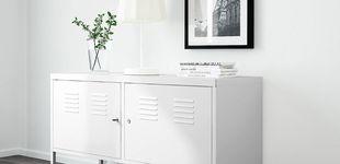 Post de DIY: convierte este mueble de metal de Ikea en un impresionante armario vintage