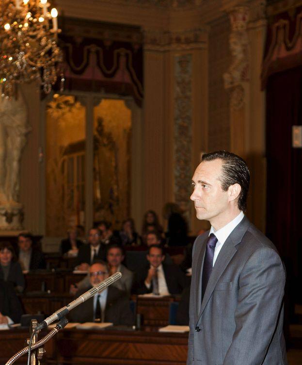 Foto: El presidente del PP de Baleares, José Ramón Bauzá, y candidato a la reelección (EFE)