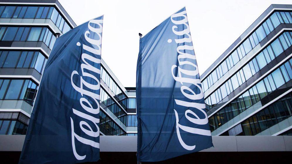 Foto: Fachada de una de las oficinas de Telefónica. (EFE)