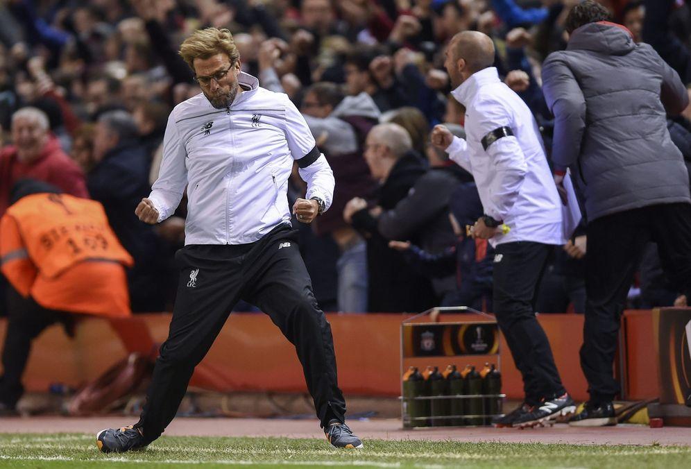 Foto: Jurgen Klopp, durante el Liverpool-Borussia Dortmund. (Reuters)