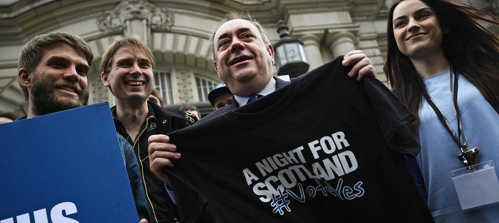 Foto: El ministro principal de Escocia, Alex Salmond. (Reuters)