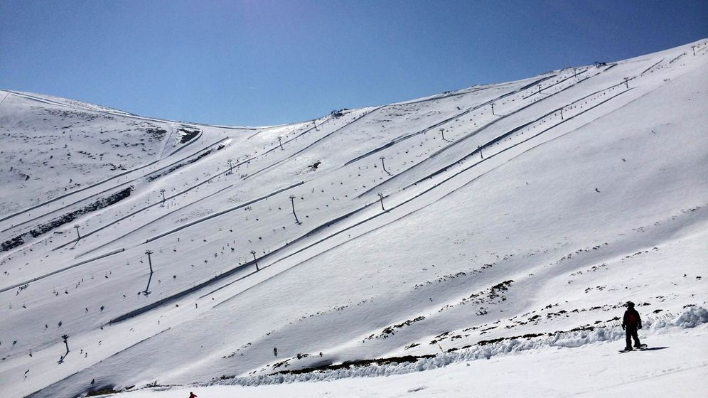 Foto: Valdesquí: la mejor nieve, a una hora de la capital de España