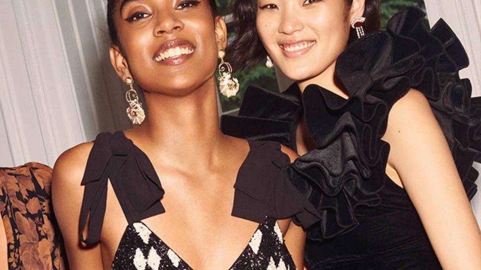El vestido negro de H&M para triunfar como invitada en una boda o en una fiesta de Nochevieja