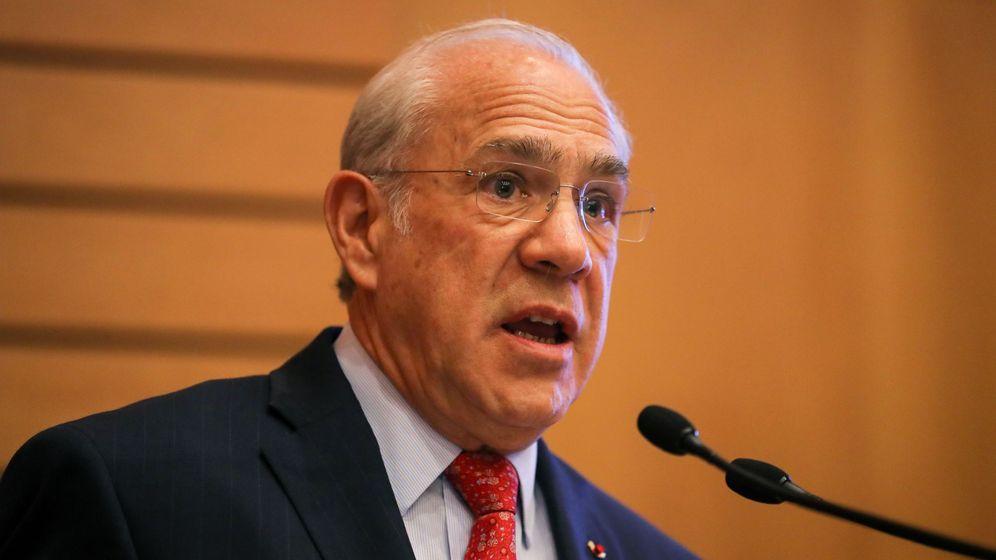 Foto: El secretario general de la OCDE, José Ángel Gurría. (EFE)