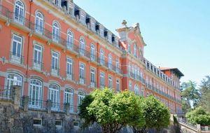 Un palacio con propiedades curativas en Portugal