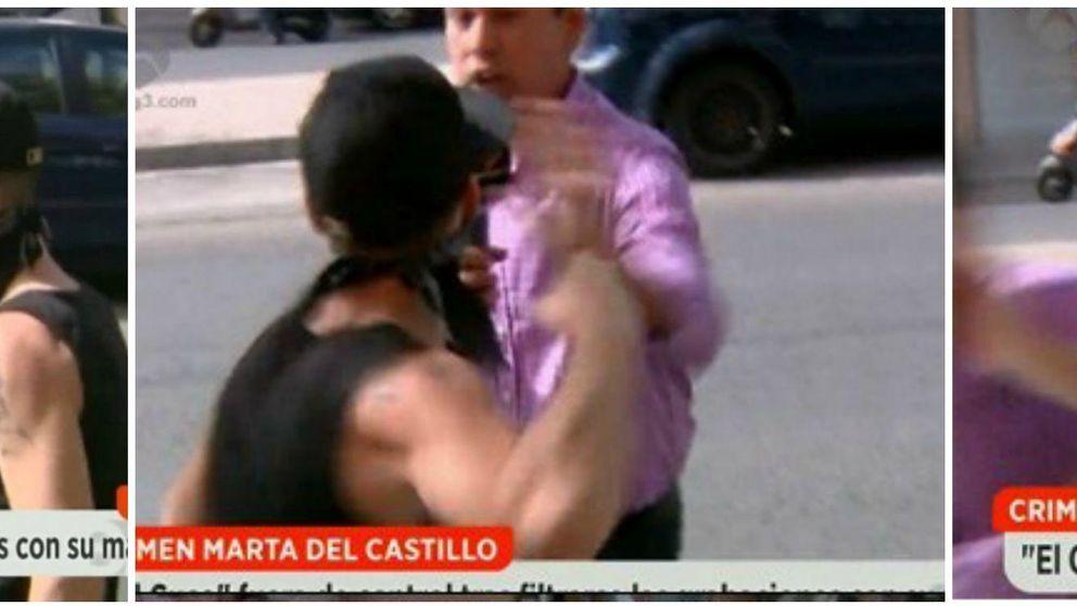 La brutal agresión de 'El Cuco' a un reportero de 'Espejo Público'