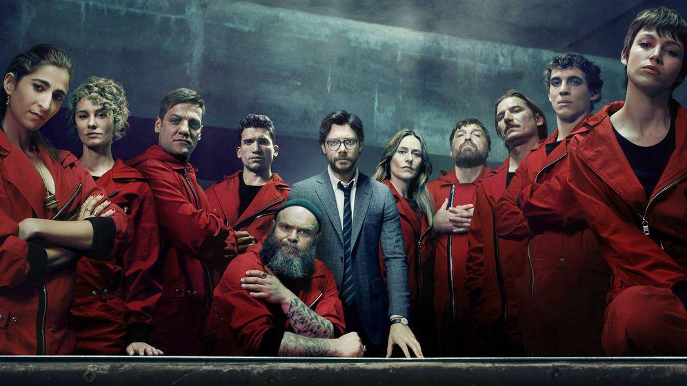Foto: Los protagonistas de La Casa de Papel. (Netflix)
