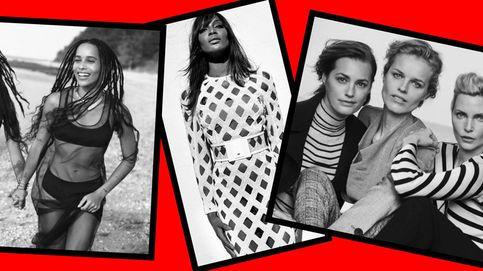 Temblad, Kendall Jenner y Gigi Hadid, Naomi, Claudia y Cindy han vuelto
