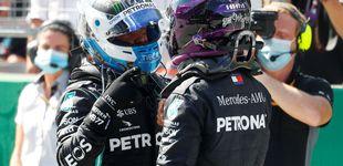 Post de Resultado Fórmula 1: pole de Bottas, debacle de Ferrari y Carlos Sainz saldrá 8º