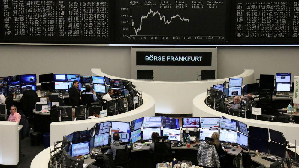 Foto: Foto de la Bolsa de Fráncfort. (Reuters)