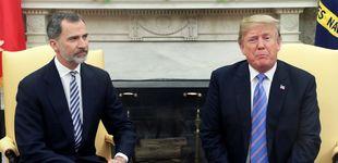 Post de Trump expresa al Rey sus condolencias por las muertes en España del Covid