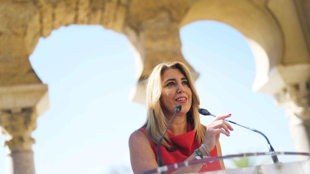 Foto: Susana Díaz en una visita a Córdoba. (EFE)