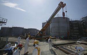 El agua radiactiva se abre paso en Fukushima