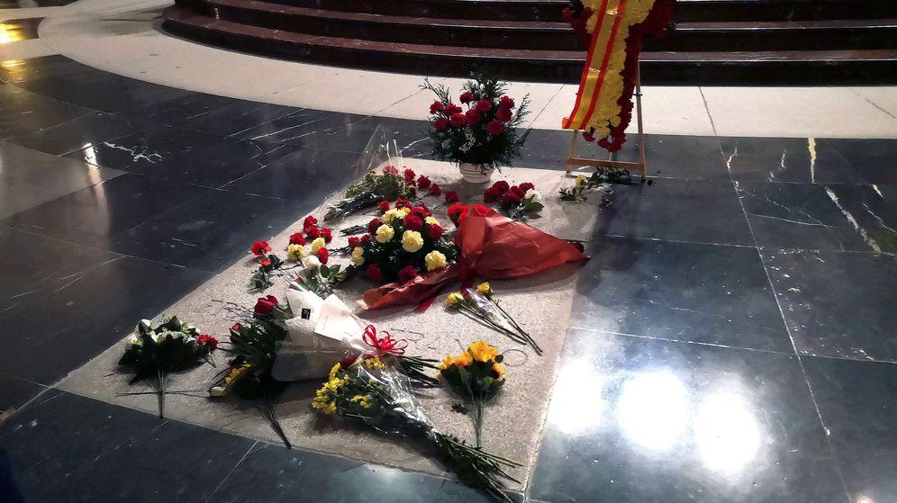 Foto: Tumba de Franco en el Valle de los Caídos. (EFE)
