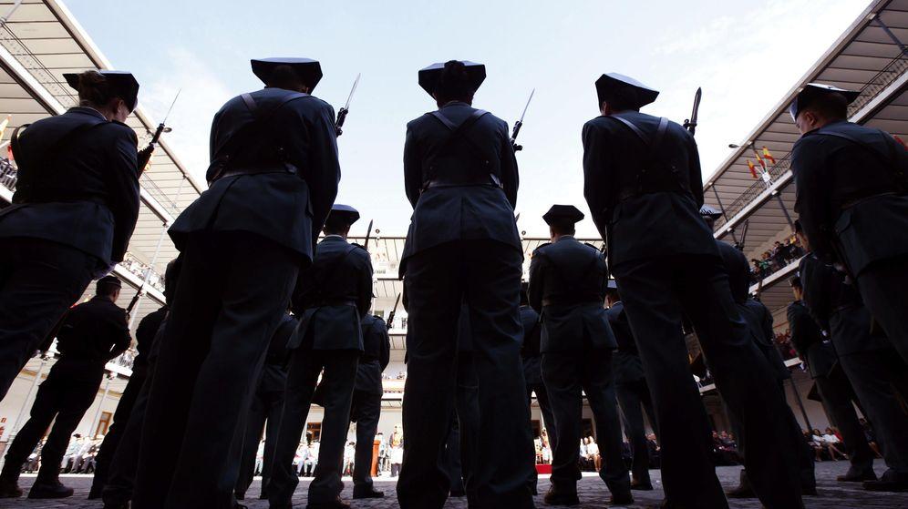 Foto: Agentes de la Guardia Civil. (EFE)