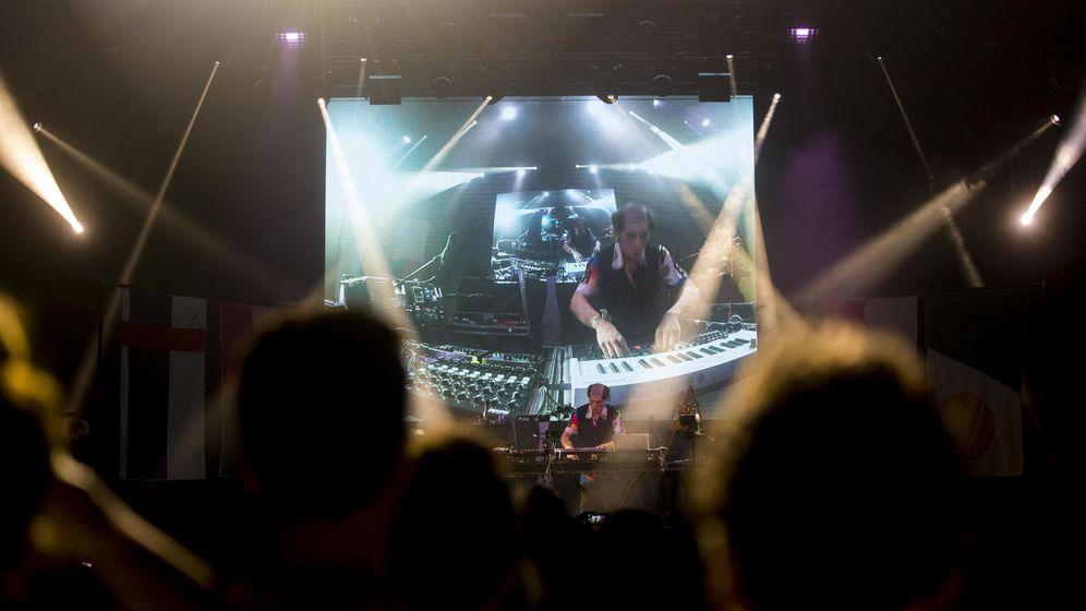 Foto: Actuación en la pasada edición del Sónar de Barcelona. (EFE)