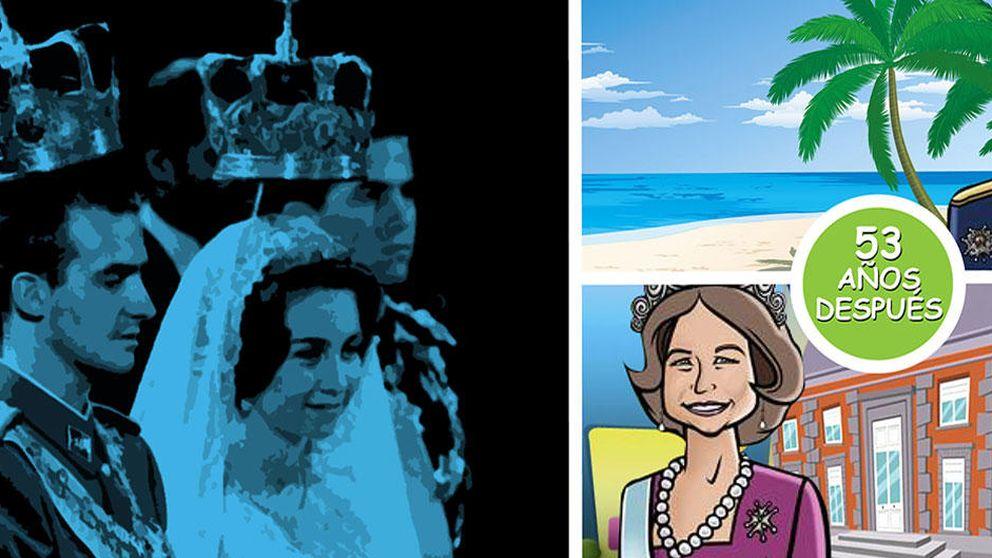 Don Juan Carlos celebra en el Caribe y en solitario su 53 aniversario de boda