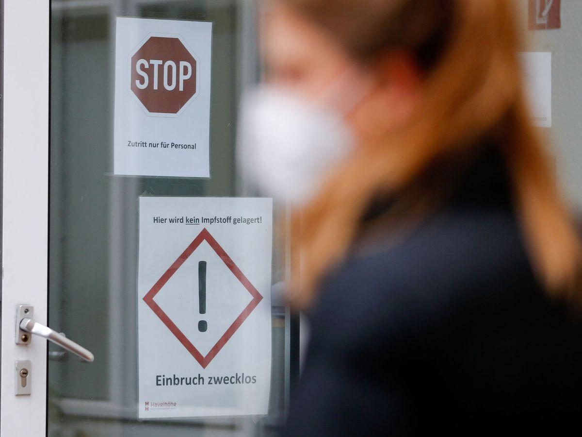 Foto: Un hospital de Berlín, ayer. (Reuters)