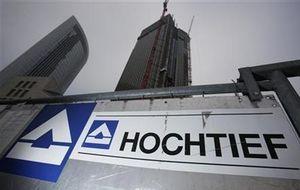 Hochtief (ACS) vende dos filiales inmobiliarias al grupo Vincitag