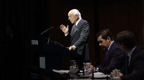 Sucesión de mentirijillas en el BBVA: Francisco González pasa el testigo a FG