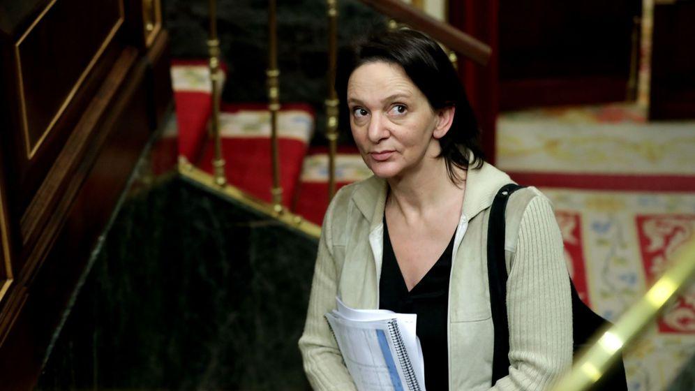 Foto: La diputada de Podemos Carolina Bescansa, en el Congreso. (EFE)