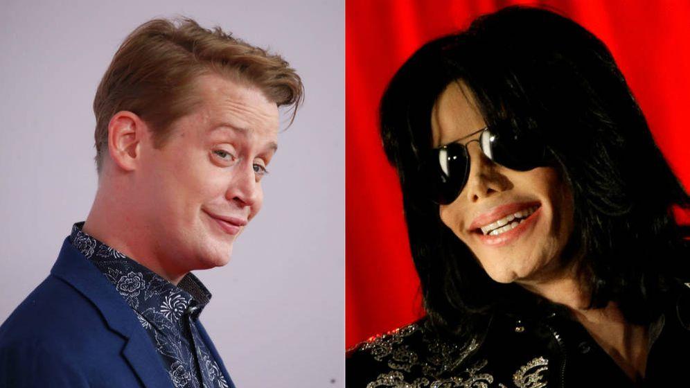 Foto: Macaulay Culkin y Michael Jackson. (Reuters)