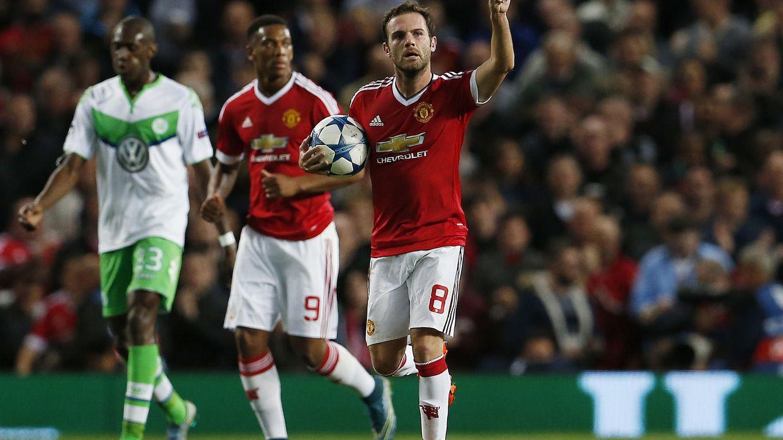 Foto: Mata fue el mejor del United (Reuters)