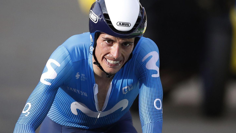 El ciclista español Enric Mas. (Efe)
