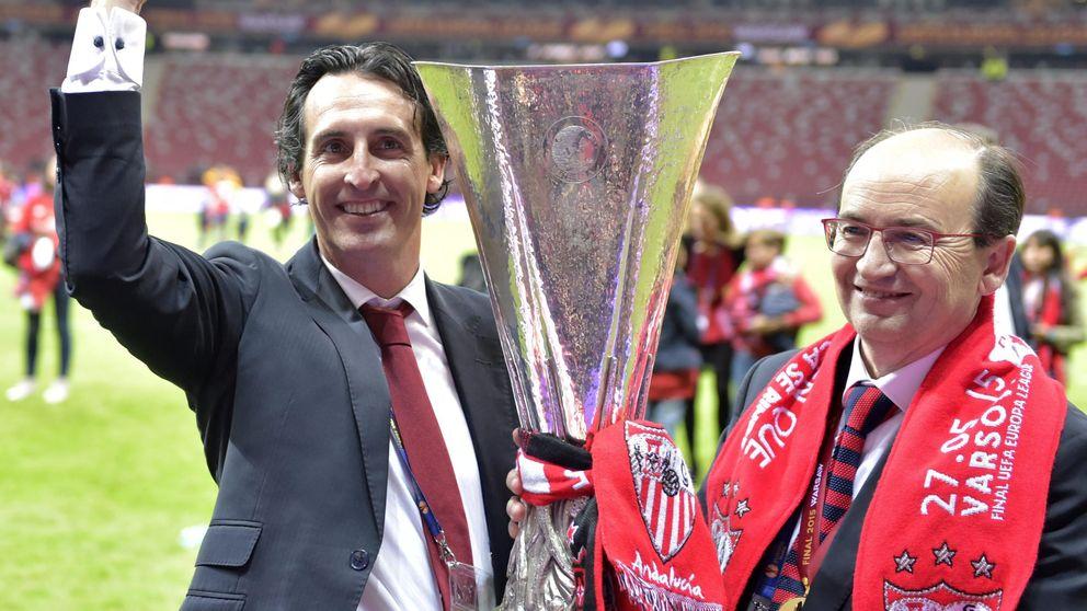 El Sevilla deja su futuro deportivo en manos del Madrid, el sueño de Emery